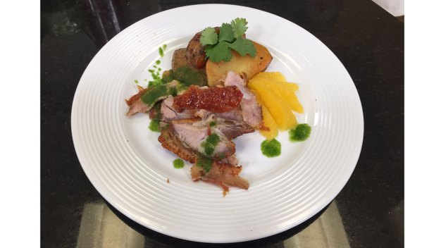 Caribbean Roast Pork Shoulder 'Pernil'