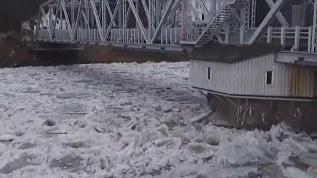 Crews Will Work to Remove Some Ice Jams in Haddem
