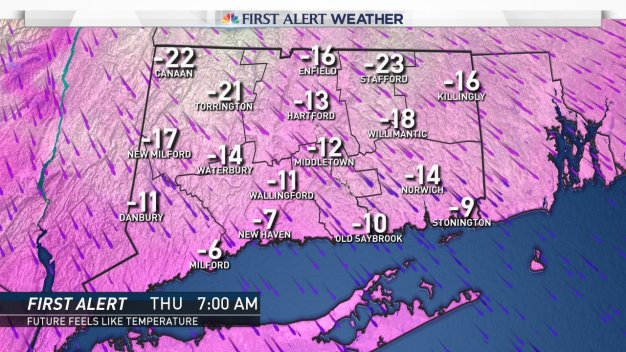 Cold Snap to Close Out 2017