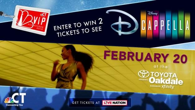 Disney D-Cappella VIP Ticket Sweepstakes