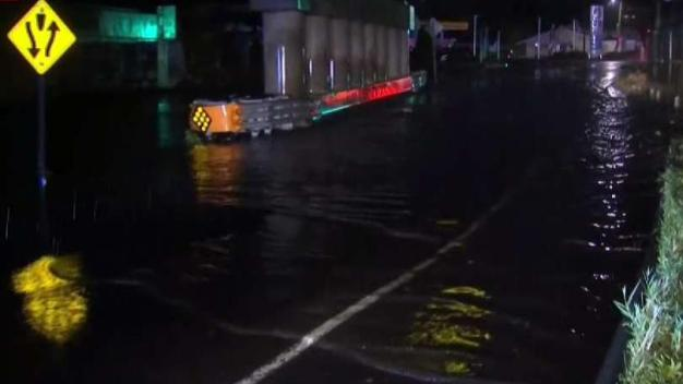 Flash Flooding Fills Streets in Milford