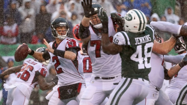 Jets Fall to Falcons, 25-20