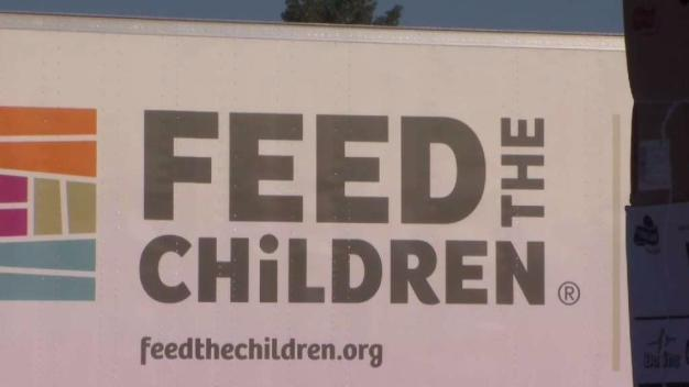 Hundreds of Families in Need Receive Food Donations