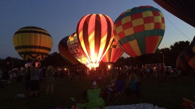 32nd Annual Hot Air Balloon Festival Lifts Off