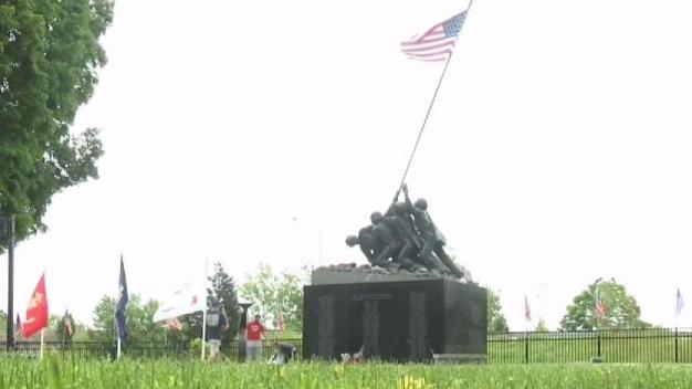 Iwo Jima Memorial Honors Those Killed in  War
