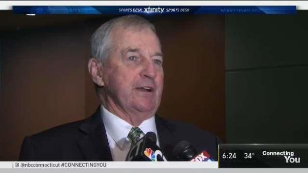Jim Calhoun Speaks About UConn Coach