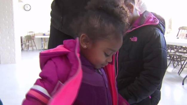 Knights of Columbus Hold Coats For Kids Event