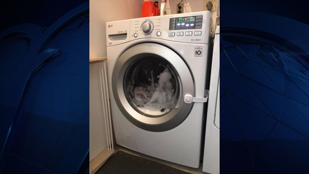 3-Year-Old Locks Herself Inside Front Load Washing Machine