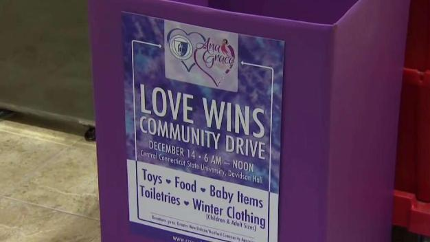 Love Wins Community Drive to Collect Items Friday