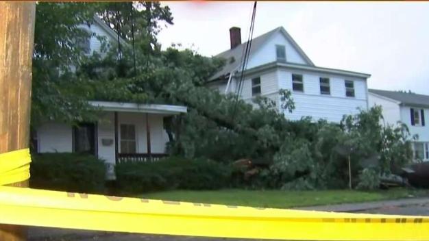 Manchester Assesses Storm Damage After Tornado Warnings