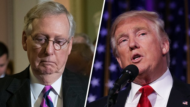 Trump-McConnell Feud Threatens Republican Agenda