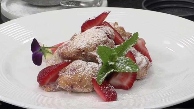 Native Connecticut Strawberry Fritters