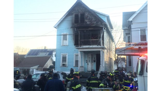 9 Make it Safely Out of New Haven Multi-Family Home Fire