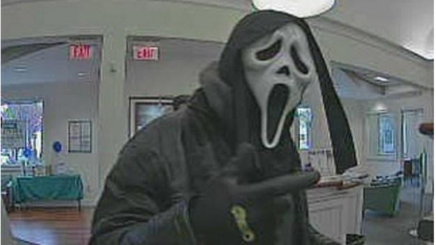 Norwalk Police Seek Masked Bank Robber