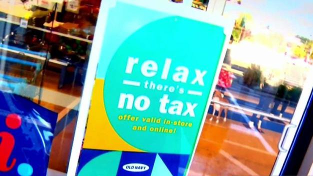 Shoppers Hunt for Savings During Tax-Free Week