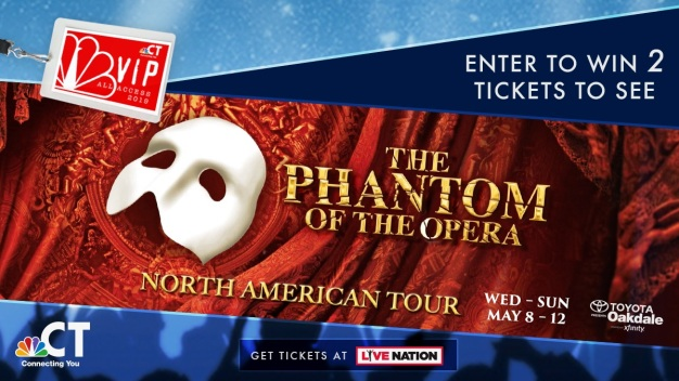 The Phantom of the Opera VIP Ticket Sweepstakes