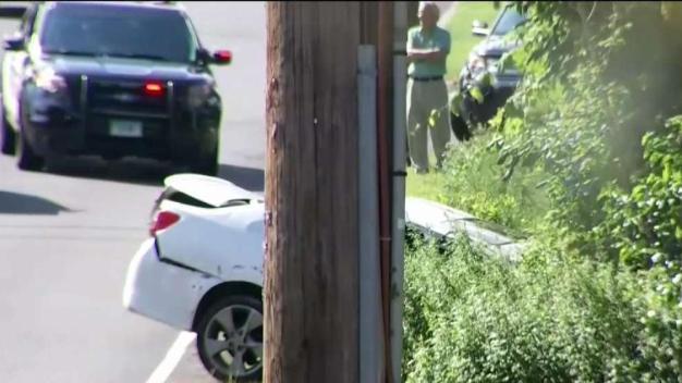 Police Chase Ends in Crash in Avon
