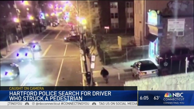 Police Search for Driver Who Hit Man in Hartford