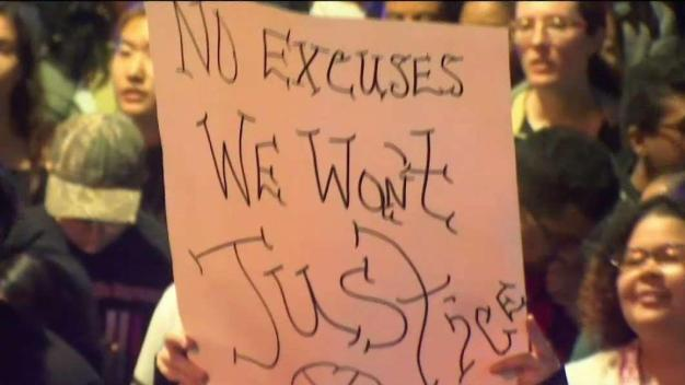 Protesters Call for Justice in Officer-Involved Shooting