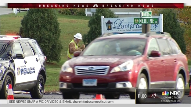 Road Closed for Hours After Crew Hits Gas Line in Vernon