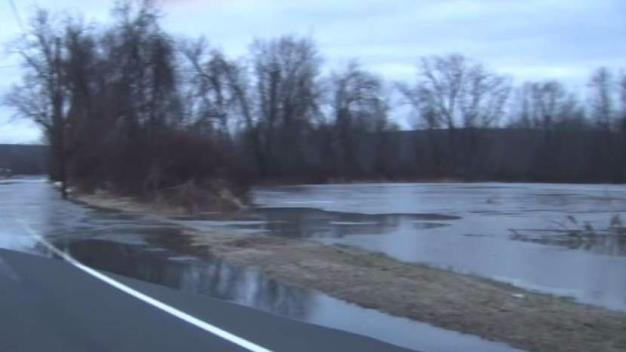 Route 17A in Portland Remains Closed Due to Flooding