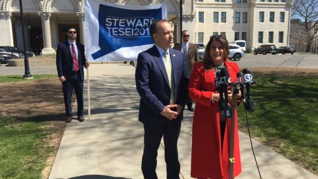 Stewart Taps Running Mate as Convention Approaches
