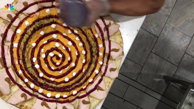 NY Eatery Selling Three-Course Thanksgiving Meal on a Pizza