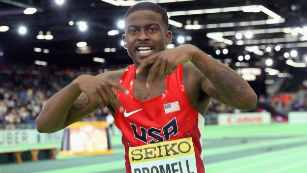 After Overcoming Injuries, Bromell Doesn't Fear Bolt