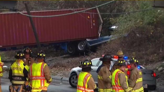 Truck Driver Dead After Crash on 95
