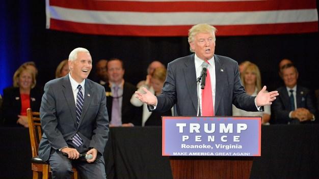 Trump Slams Kaine; Points to DNC 'Mess'