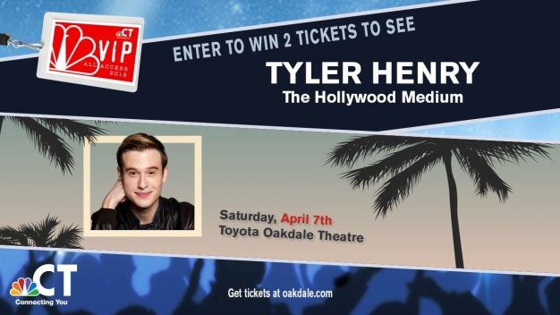 Tyler Henry VIP Ticket Sweepstakes