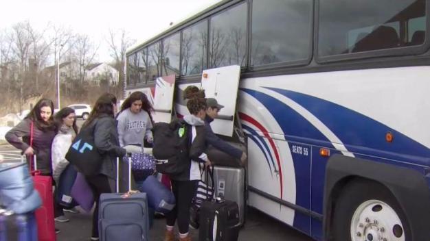 UHart Students Spend Spring Break Working Hurricane Relief