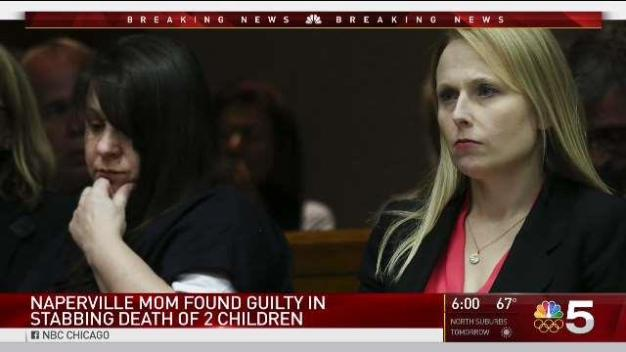 Naperville Woman Found Guilty of 2012 'Black Shadow' Slayings of 2 Children