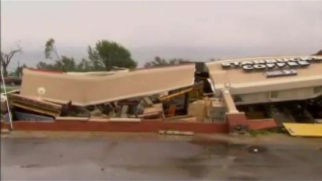 Indiana Starbucks Flattened By Tornado