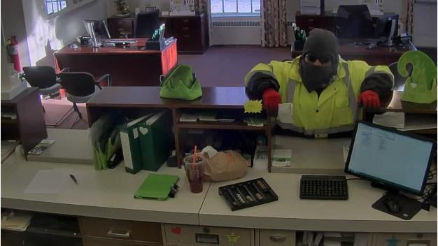 Woodbridge Police Seek Bank Robbery Suspect