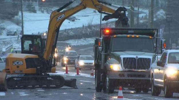 Water Main Break Closes Schools in Winchester Thursday