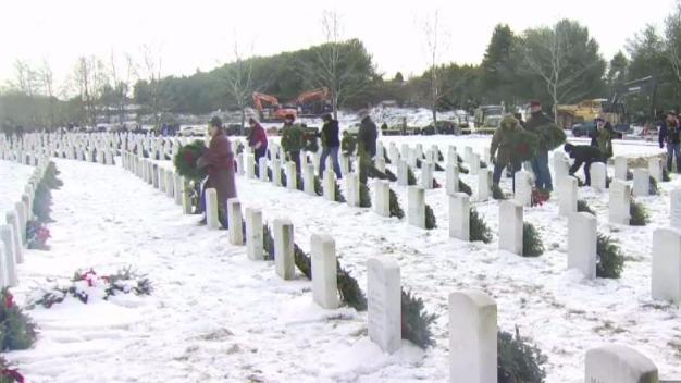 Wreaths Across American Honors Veterans