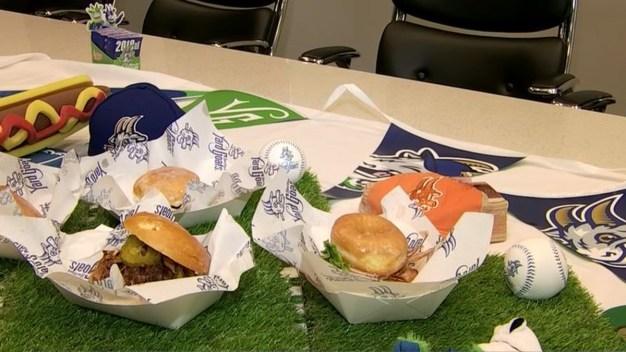 Hartford Yard Goats Unveil 2018 Extreme Foods