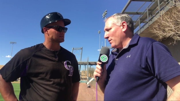 Yard Goats Manager Warren Schaeffer Speaks at Spring Training