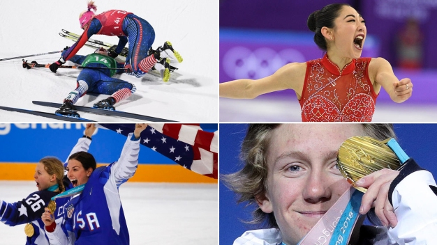 Biggest Moments of the 2018 Winter Olympics