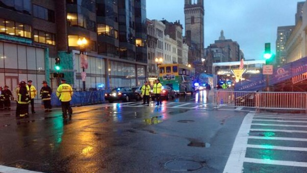 Suspicious Bags Detonated at Boston Marathon Finish Line