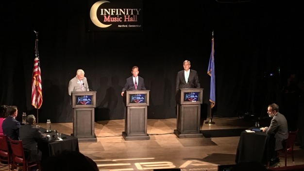 Gubernatorial Candidates Face Off at CBA Debate