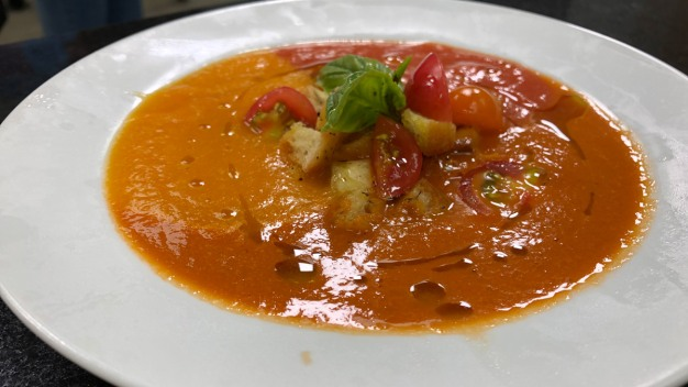 Chilled Native Tomato Soup