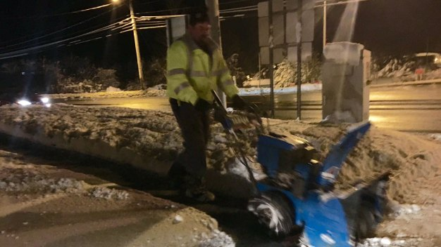 CT Jackpot Towns Dig Out From Heavy Snow