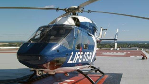 LifeStar Transports One Patient After Motorcycle Crash in Willington