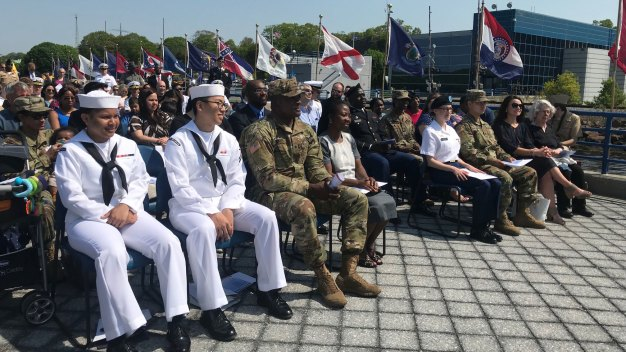 Current and Former Service Members, Family Members Become New U.S. Citizens