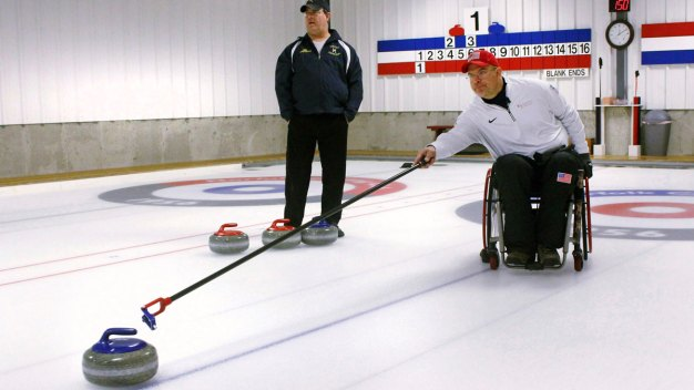 Paralyzed Ex-UConn Basketball Player Now a Curling Paralympian