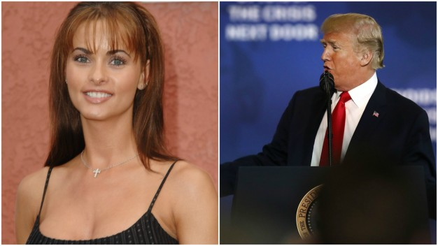 Former Playboy Model Says Trump Tried to Pay Her After Sex