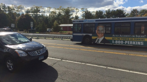 CT DOT Looking to Move 'Dangerous' Bus Stop in Wallingford