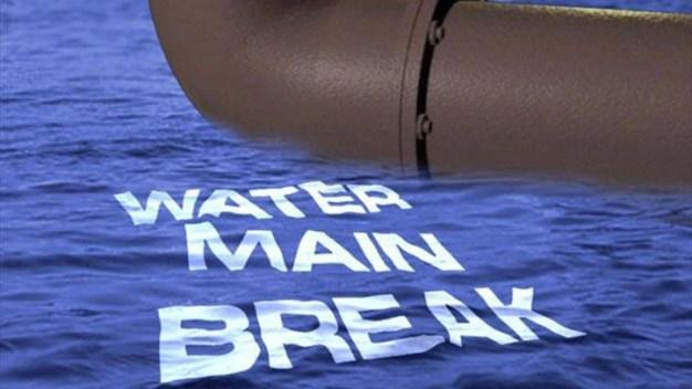 Mystic Water Main Break Causes Evacuations